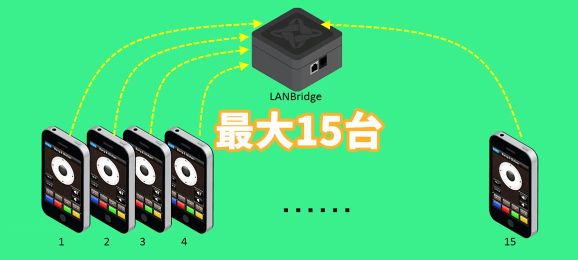 LANBrdige-15port