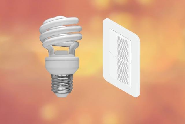 ランプ・スイッチともに「一般的な電材」を使用!!