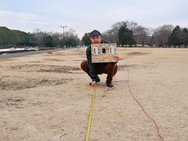 3-赤外線発光器強度テスト