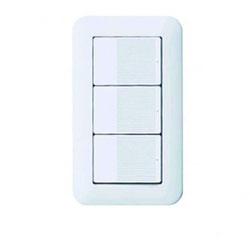 特別な壁スイッチも使いません 壁スイッチも、「赤外線・WiFi・Blootooth」など、特別な機能を持ったものは使いません。ごく一般的なものを使用。それでいてスマートフォンとの併用が可能です。