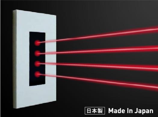 壁取付型リモコン赤外線発光器