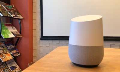 「Google Home」「アレクサ」の2種類のAIスピーカーを用意しています。